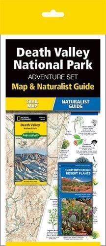 Death Valley National Park Adventure Set  Map   Naturalist Guide