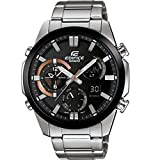 Men's Casio Edifice Dual-Time Stainless Steel Watch ERA500DB-1A