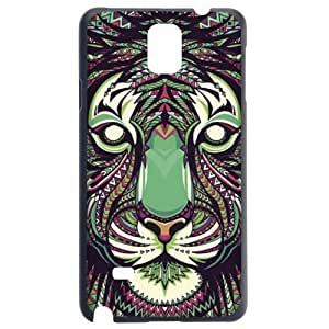Fashion Personality Vintage Pattern Aztec Animal Tiger Hard Back Plastic Case Cover Skin Protector For Samsung Galaxy Note4 N9100 by Alexism