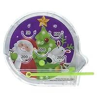 Amscan Festive Christmas Plastic Pinball Game, 12 Ct. | Actividad de fiesta