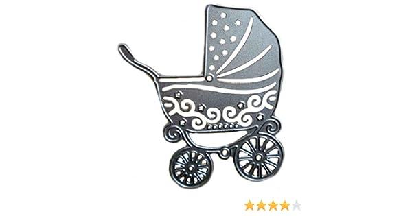 Laileya DIY Carro de bebé del patrón Troqueles de Corte de la Plantilla para la Compra de Papel de Scrapbooking Molde de Metal: Amazon.es: Hogar