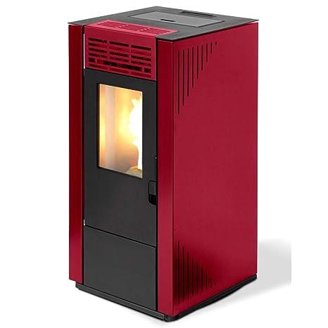 Qlima estufa de pellets 7.4kW 170mc Calefacción casa Burdeos ...