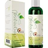 Natural Shampoo Oily Hair and Oily Scalp Treatment - Moisture Control Balance Hair Care - With Essential Rosemary Lemon Jojoba Basil and Cypress Oil - Cruelty Sulfate and Paraben Free Made In The USA