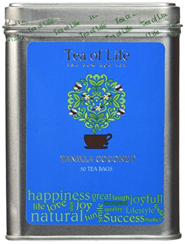 Tea Life Square Tin Vanilla product image