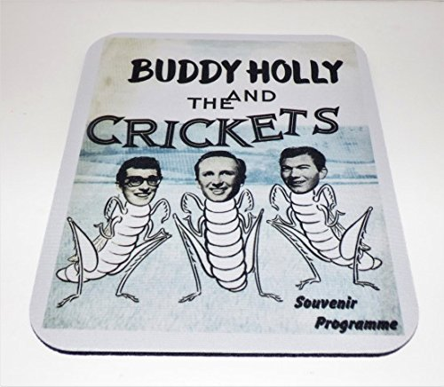 Price comparison product image BUDDY HOLLY & the Crickets COMPUTER MOUSEPAD