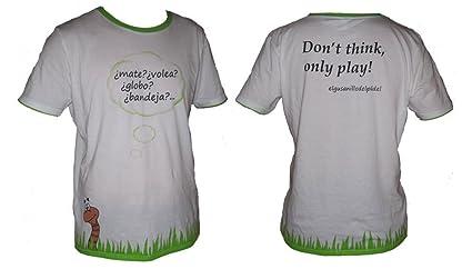 El Gusanillo Del Padel Camiseta Volea Hombre: Amazon.es ...