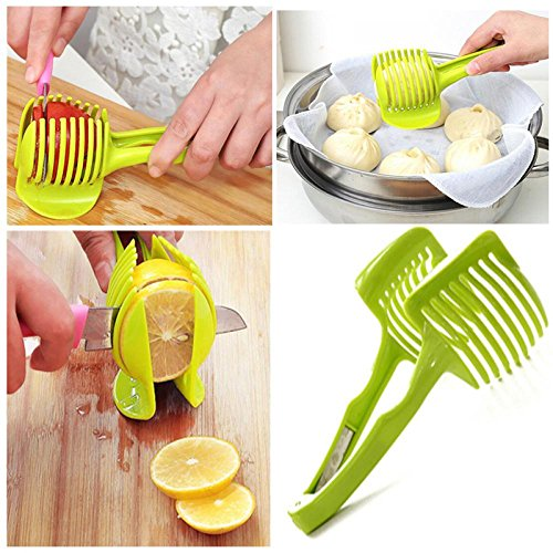 Amapower Hot Gadgets Peeler Fruits Cutter Vegetables Clip Lemon Tomato Slicer Kitchen Tool