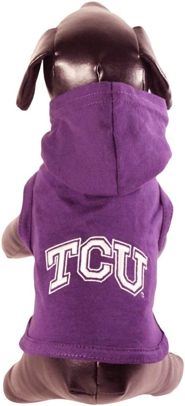 NCAA North Carolina State Wolfpack Collegiate Cotton Lycra Hooded Dog Shirt