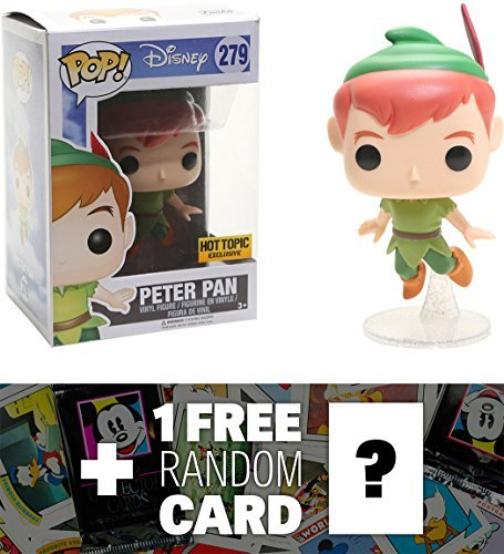 Peter Pan : Funko POP! Disney x Peter Pan Vinyl Figure + 1 F
