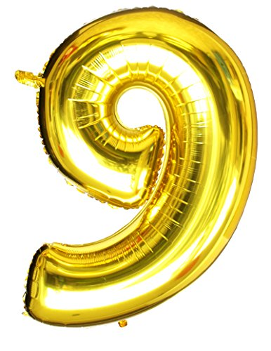 langxun-40-number-9-air-filled-helium-gold-mylar-balloons-for-birthday-party-supplies