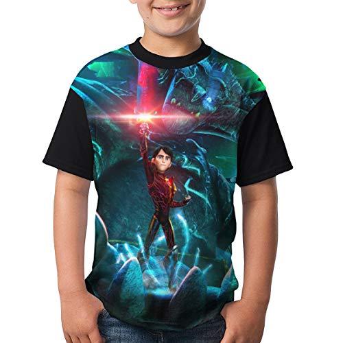 2e5c10b3c5af6 Youth, Trollhunters Popular, Stylish, Comfortable Print T-Shirt Black