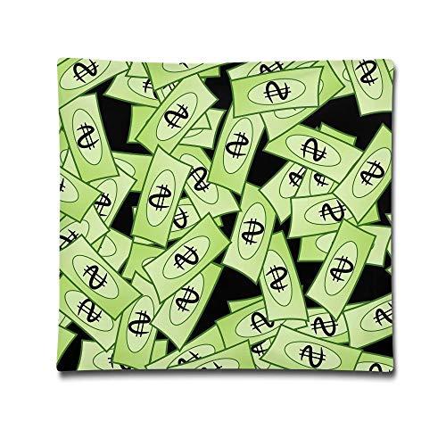 - KBdiengsuihekiss 1818 Inches Pillow Case Money Wallpaper Comfortable Soft Bed Pillow Case Household Pillow Case Office Bolster