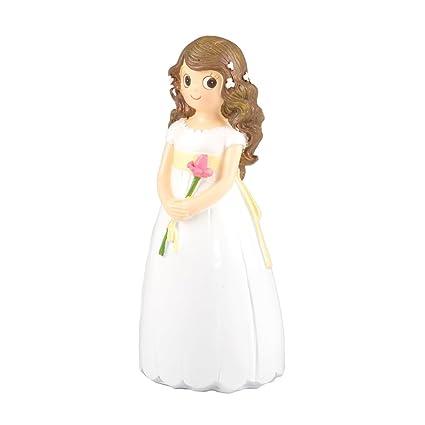 Mopec Y861 - Figura de pastel para comunión, 8.5 x 9.5 x 18.5 cm,