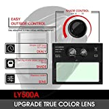 YESWELDER True Color Solar Powered Auto Darkening