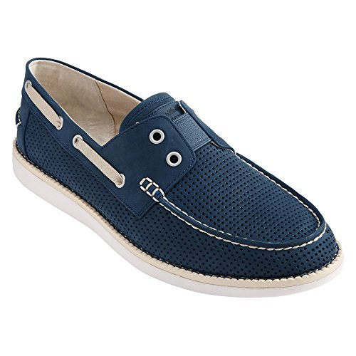 Tommy Bahama Mens Relaxology Mahlue Navy Barca Scarpa 7 D (m)