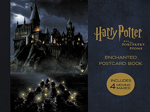 Harry Potter and the Sorcerer's Stone Enchanted Postcard Book (Harry Potter Deathly Hallows Part 1 3d)
