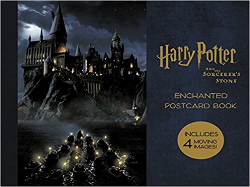 Harry Potter and the Sorcerers Stone Enchanted Postcard Book ...
