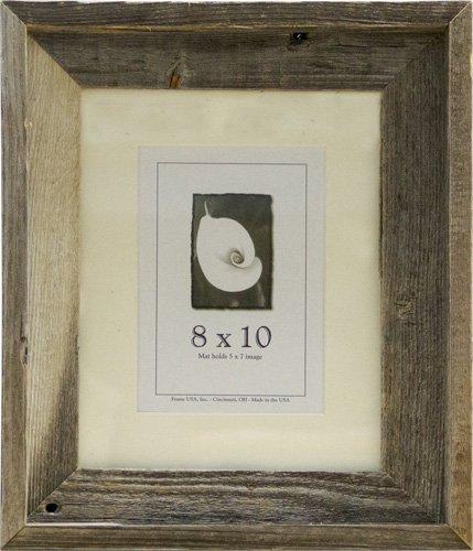 8×10 Picture Frames-Barnwood frames