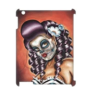 Custom No Rest For The Wicked Sugar Skull Case For Ipad 2 3 4 With