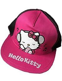 Hello Kitty Child's Baseball Cap 4-8 Years Pink/Black