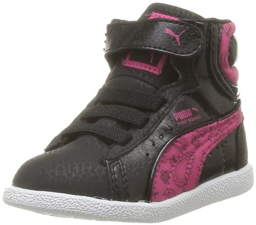 Puma Baby Girls' First Round Paisley V Kids First Walking Shoes ...
