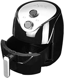 NBVCX Life Accessories Health Air Fryer Air Fryer 5.5L Large Capacity Electric Fryer Household Oil Free Smart Fries Machine High Speed Hot Air Circulation Multi Function Low Fat Health Pan