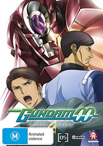 Mobile Suit Gundam 00 Season 2 Vol. 5 | Anime & Manga | NON-USA Format | PAL | Region 4 Import - Australia -