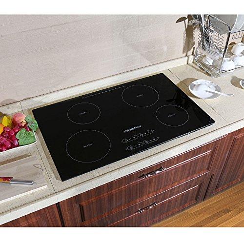 4 burner induction cooktop - 5