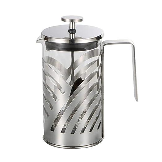 LouiseEvel215 Máquina de café de Prensa Francesa de Acero ...