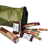 Carnivore Club Wild Game Sampler Set - Includes 8 Delicious Wild Game Meat Snacks - Comes Packed in a Hiking Dry Bag - Summer Sausage Meat Sticks Jerky Lover Gift - Gourmet Wild Game Assortment Gift Pack