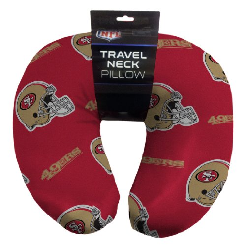 The Northwest Company Officially Licensed NFL San Francisco 49ers Beaded Spandex Neck Pillow
