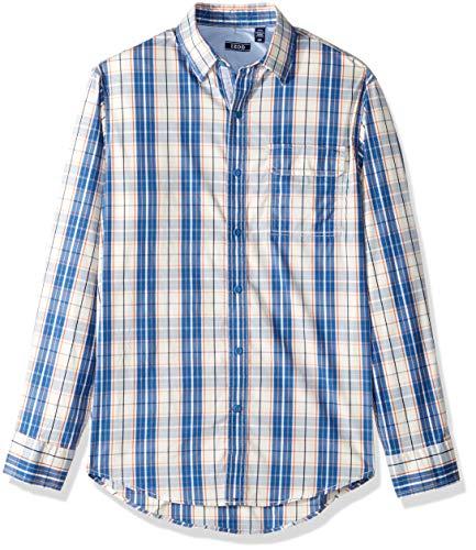 - IZOD Men's Advantage Performance Non Iron Stretch Long Sleeve Shirt