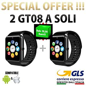 PCJOB 2 Smartwatch Android iOS Smart Watch Teléfono Touch ...