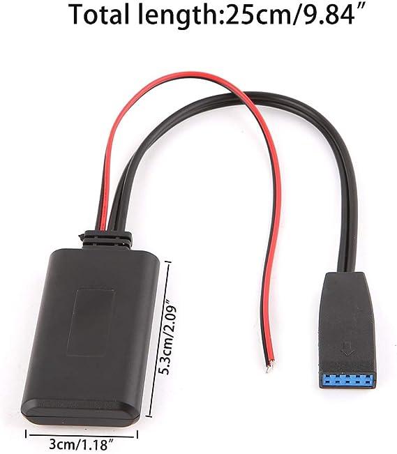 Car Bluetooth Module Radio Aux Adapter for BMW E39 E46 Business CD SA 661//650