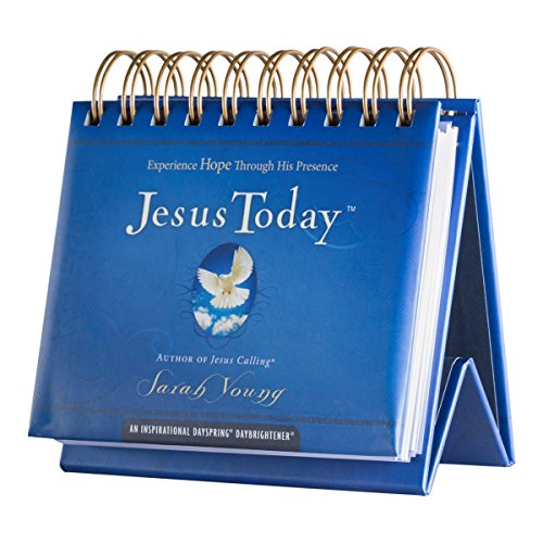 Flip Calendar - Jesus Today by Sarah Young (Today Calendar Desk)