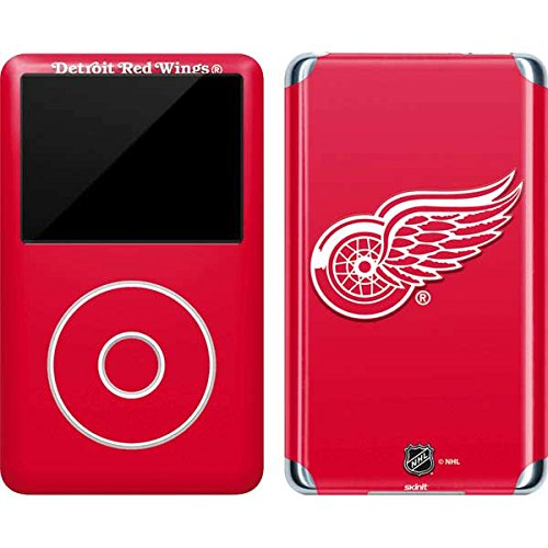 Red Wings Skin Detroit Ipod (Skinit Detroit Red Wings Solid Background Vinyl Skin for iPod Classic (6th Gen) 80 / 160GB)