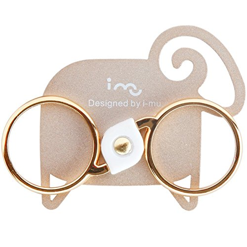 Sheep Style Double Rings Stand Metal Ring Mounts Rings Holder Ring Kickstand for any Smartphones and Device Design By I-MU
