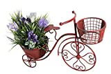 Attraction Design HG1101 Metal Nostalgia Yard Bike Planter
