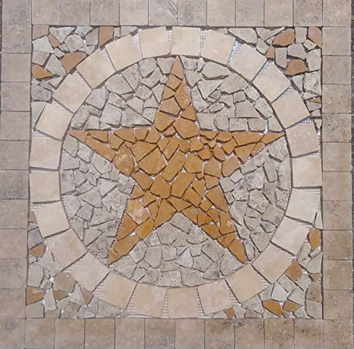 24 Inch Marble Mosaic - 24