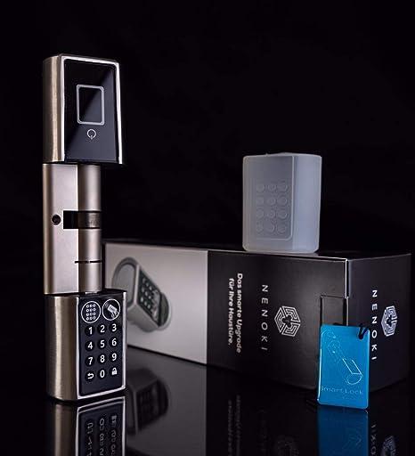 NENOKI Smartlock Electronic Lock Cylinder PIN Code, RFID & App