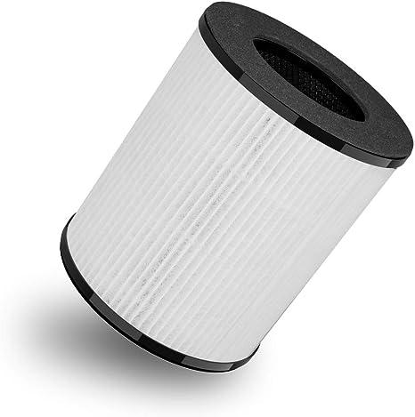 Toyugo HE0371 - Filtro de repuesto para purificador de aire HEPA y filtro de carbón activo: Amazon.es: Bricolaje y herramientas
