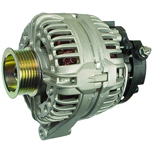 New Alternator For 04-05 Buick Century V6 3.1L, 03-05 Chevy Impala Malibu Monte Carlo 3.1L 3.4L, 03-04 Oldsmobile Alero 3.4L, 03-05 Pontiac Grand Am (Buick Century Alternator)