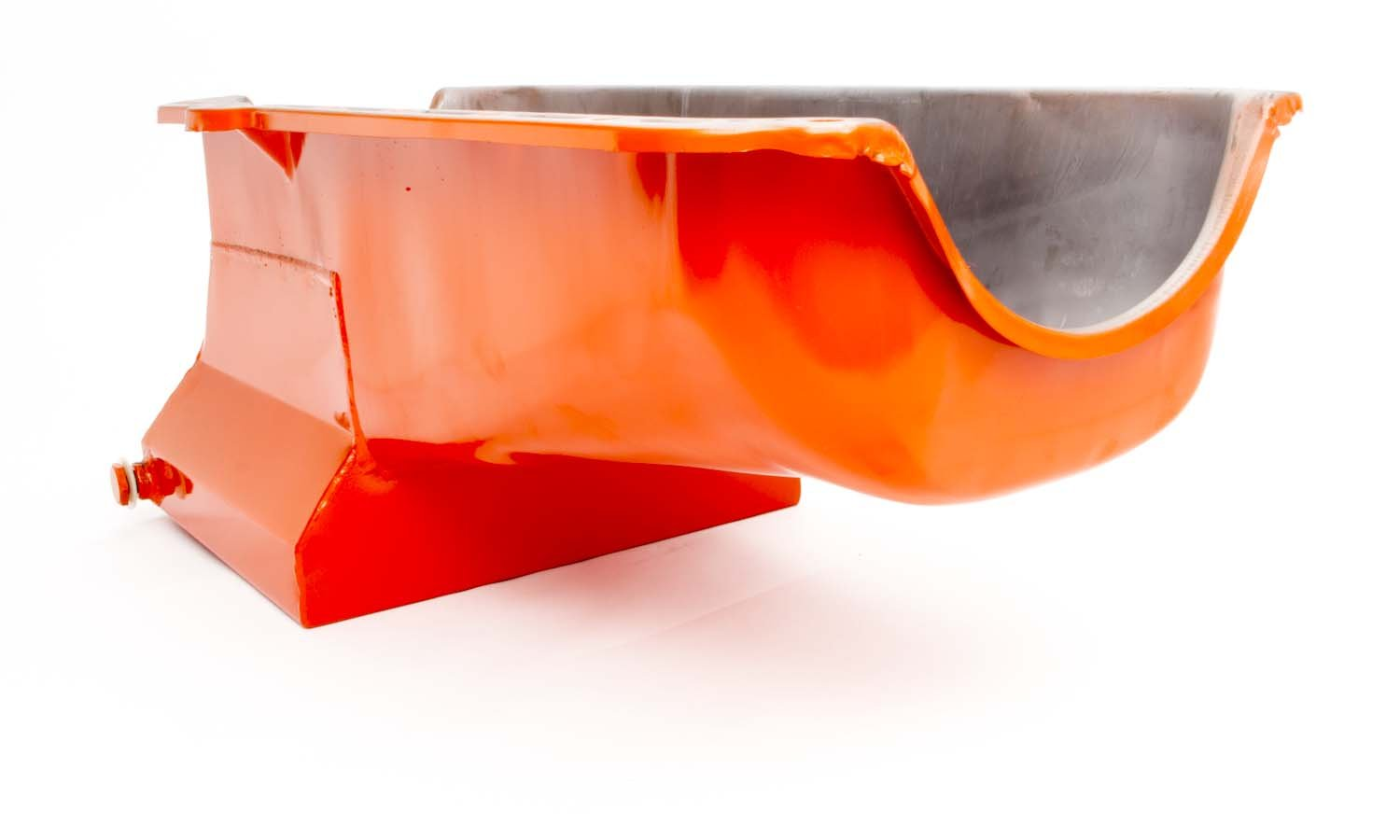 Racing Power Company R9731 Orange Drag Race Oil Pan for Small Block Chevy
