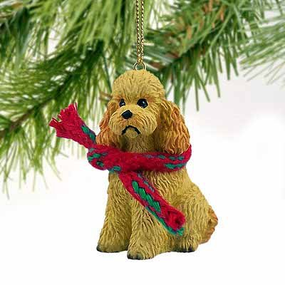 - Conversation Concepts Poodle Sportcut Miniature Dog Ornament - Apricot