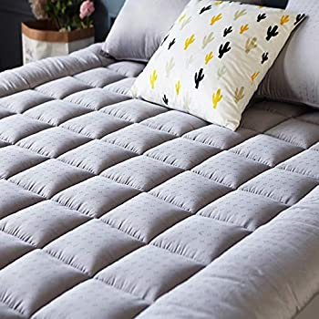 Amazon Com Mattress Pad Cover King Size Cooling
