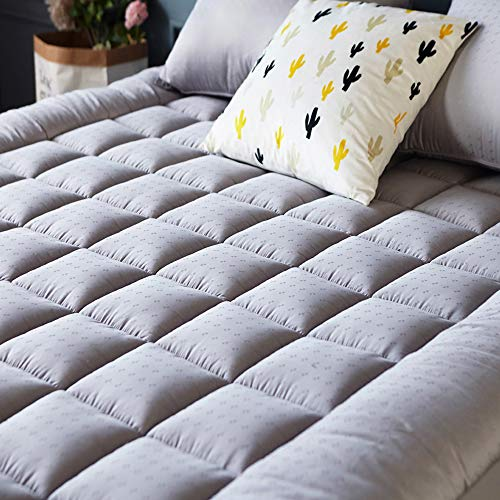Mattress Pad Cover - Cooling Mattress Topper with Thick Cott