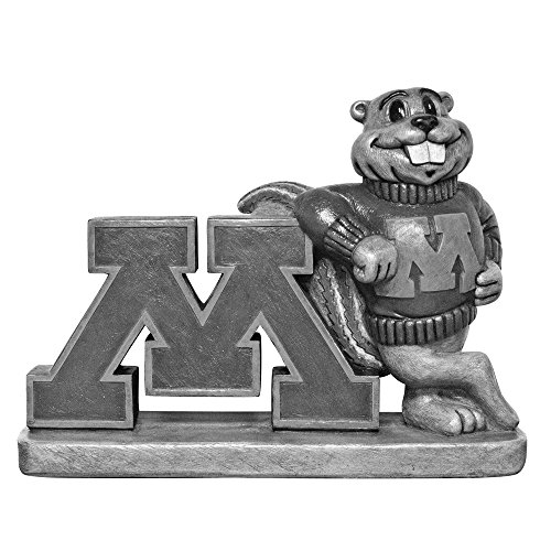 Minnesota Golden Gophers NCAA ''Golden Gopher'' College Mascot 16in Vintage Statue by Stone Mascots