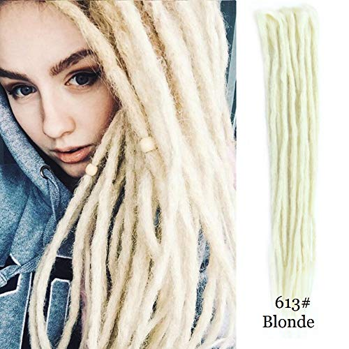 Dreadlocks Extensions Synthetic Handmade Braiding product image
