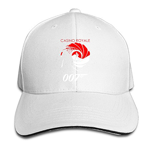 Harriy 007 Spectry UV Protect Sandwich Hat White ()