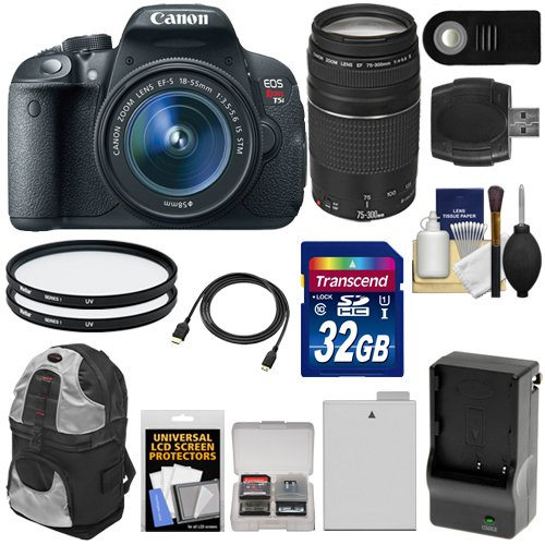 Canon EOS Rebel T5i Digital SLR Camera & EF-S 18-55mm IS STM